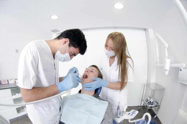 歯医者で吐きそうになる